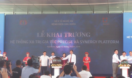 BV Ung bướu Nghệ An: Khai trương hệ thống xạ trị gia tốc precise và synergy platform
