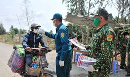 Biên phòng An Giang: 200 tổ chốt túc trực ngày đêm trên tuyến biên giới