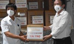 TP.HCM: Tiếp nhận 500.000 bộ bơm kim tiêm ủng hộ cho Chiến dịch tiêm chủng vắc xin COVID-19