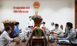 Tổ công tác đặc biệt Bộ Y tế trực tiếp hỗ trợ Tiền Giang chống dịch