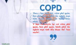 Phác đồ điều trị bệnh phổi tắc nghẽn mạn tính theo hướng dẫn của Bộ Y tế