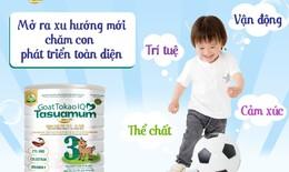 Sữa dê có tốt cho trẻ hay không?