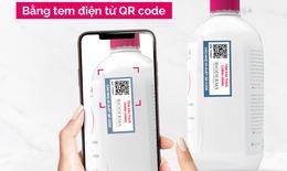 Xác thực sản phẩm Bioderma chính hãng với tem xác thực điện tử QR Code