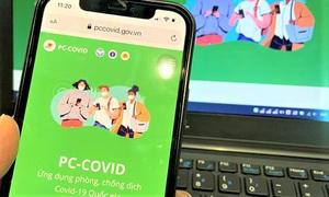 PC-Covid cho phép quét mã QR qua webcam, camera máy tính