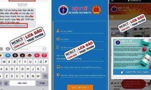 Cảnh báo 2 website lừa đảo xin trợ cấp tiêm vắc xin COVID-19