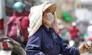 Chỉ số tia cực tím ở nhiều thành phố có nguy cơ gây hại từ cao đến rất cao