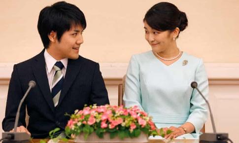 Công chúa Nhật Bản hoãn đám cưới do sang chấn tâm lý