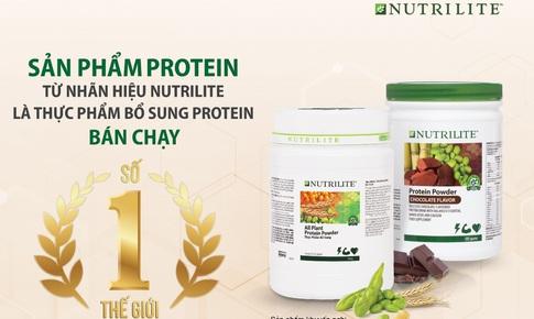 """Nutrilite Protein – """"Thực phẩm bổ sung protein bán chạy số 1 thế giới"""""""