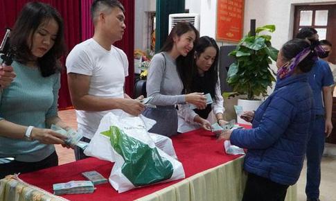 2 huyện ở Nghệ An đã có báo cáo gửi Bộ Công an về hoạt động từ thiện của ca sĩ Thủy Tiên