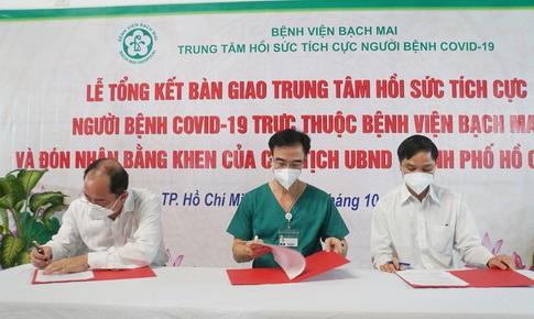 BV Nhân dân Gia Định tiếp nhận TT Hồi sức tích cực người bệnh COVID-19 BV Bạch Mai