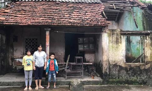 Chồng đột ngột mất vì điện giật để lại hai con thơ cho người vợ bệnh tật không tiền điều trị