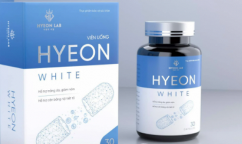 Sản phẩm viên uống Hyeon White vi phạm quy định về quảng cáo