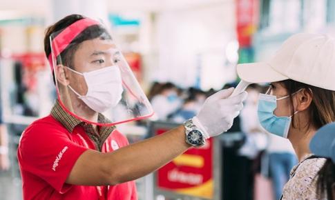 Vietjet sẵn sàng đón khách trên các chuyến bay xanh, an toàn phòng chống dịch bệnh