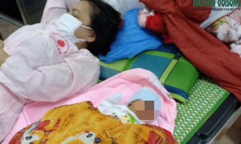 Sản phụ sinh con khi đang trên đường từ TP. HCM về Nghệ An