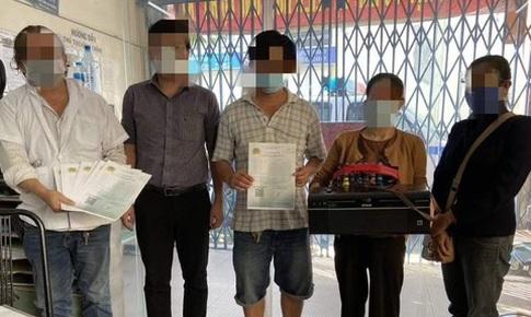 Phát hiện nhóm người in giả 10 giấy đi đường với giá 90 nghìn