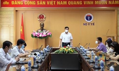 Thứ trưởng Bộ Y tế: Các tỉnh miền Tây Nam Bộ phải phấn đấu giảm số F0 trong 7 ngày tới