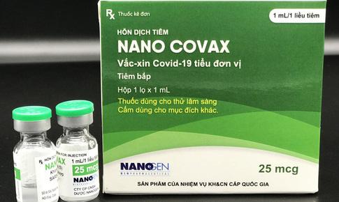 Ngày mai, Hội đồng đạo đức và Hội đồng tư vấn sẽ họp tiếp tục đánh giá vaccine NanoCovax