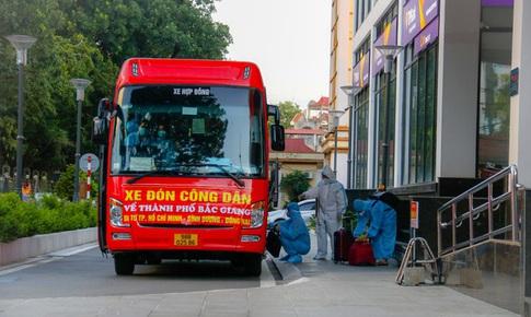 Bắc Giang: 15 ngày không phát sinh ca cộng đồng, tiếp tục đón công dân từ miền Nam về quê