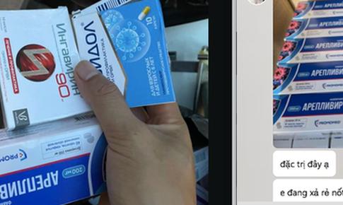 """Loạn thị trường thuốc """"xách tay"""" quảng cáo """"dự phòng và trị COVID-19"""""""