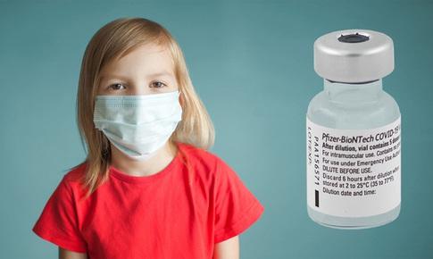 Vaccine Pfizer an toàn với trẻ 5-11 tuổi, tiếp tục thử nghiệm trên trẻ từ 6 tháng đến 5 tuổi