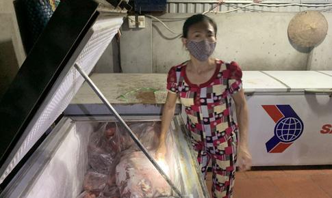 Phát hiện người phụ nữ mua bán hơn 5 tạ thịt lợn nhiễm dịch tả lợn Châu Phi