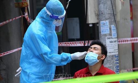 36 người Hà Nội mắc COVID-19 trong ngày 9/9, các ổ dịch mới, phức tạp tiếp tục tăng ca mắc