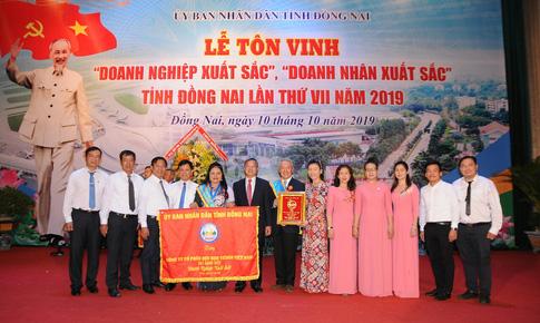 """Công ty Vedan Việt Nam được vinh danh """"Doanh nghiệp xuất sắc"""" tỉnh Đồng Nai năm 2019"""