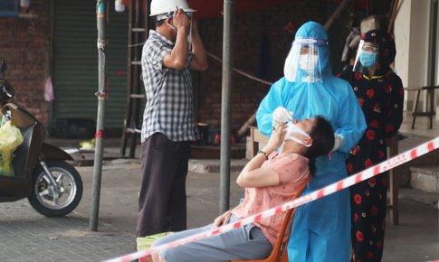 Nghệ An: Ổ dịch tại chợ đầu mối TP. Vinh vẫn chưa rõ nguồn lây nhiễm.