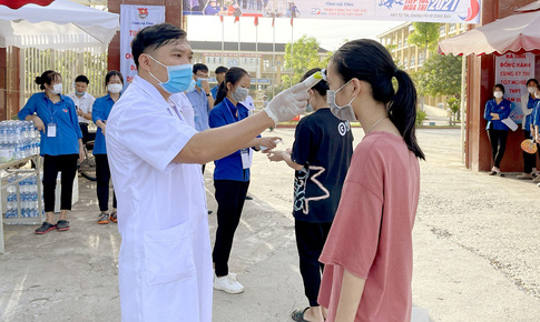 Hà Tĩnh triển khai phòng, chống dịch cho kỳ thi tốt nghiệp THPT