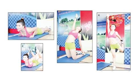 4 bài tập thể dục giúp ăn ngon miệng