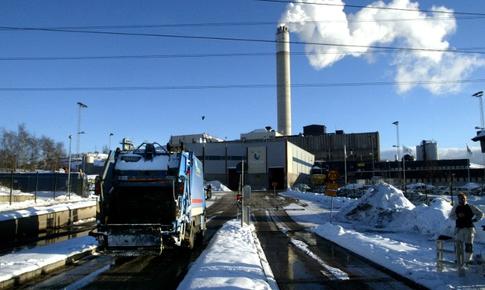 Thụy Điển nhập khẩu rác thải để sưởi ấm và sản xuất điện