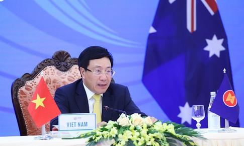 ASEAN-Australia đẩy mạnh ứng phó COVID-19