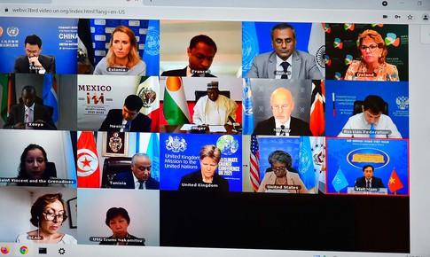 Duy trì hòa bình và an ninh quốc tế trên không gian mạng