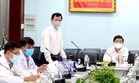 Bệnh viện Chợ Rẫy chủ động chuẩn bị cho các cấp độ 100-300 bệnh nhân COVID-19