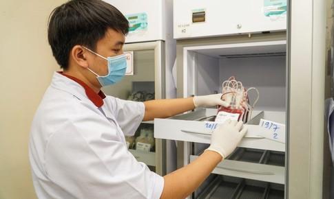 Lượng máu dự trữ ở Trung tâm Truyền máu Chợ Rẫy đã gần chạm đáy