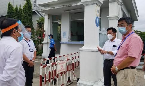 Bộ Y tế kiểm tra chống dịch tại Khu chế xuất Tân Thuận