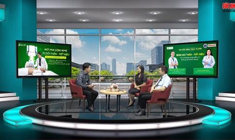 Truyền hình trực tuyến: Bệnh sỏi thận - tiết niệu: Các phương pháp điều trị không cần phẫu thuật