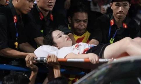 Khởi tố vụ đốt pháo sáng tại sân Hàng Đẫy, Hà Nội