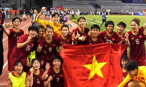 Giành vàng tại chung kết, Đội tuyển bóng đá nữ Việt Nam nhận hàng tỷ đồng tiền thưởng