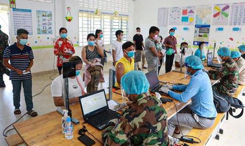 Thủ đô Phnom Penh: Số ca mắc mới giảm mạnh do tỷ lệ tiêm chủng cao