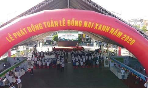 """700 cây xanh đồng hành cùng chương trình """"Tuần lễ Đồng Nai xanh"""" 2020"""