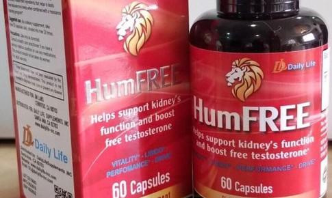 Thực phẩm BVSK Humfree vi phạm quy định về quảng cáo