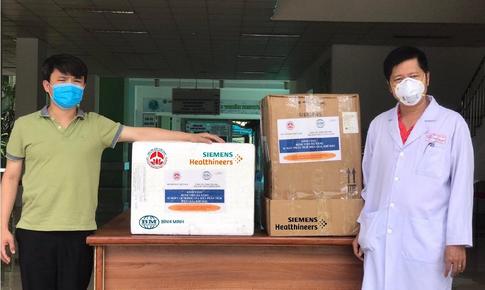 Chung tay góp sức hỗ trợ Bệnh viện Đà Nẵng ứng phó dịch COVID-19