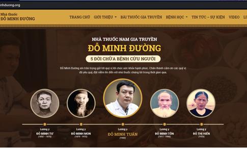 Nhà thuốc Nam gia truyền Đỗ Minh Đường ra mắt website mới dominhduong.org