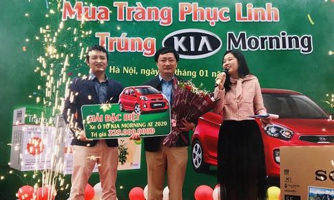 Tràng Phục Linh Plus trao ô tô cho khách hàng trúng thưởng