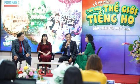 Lần đầu tiên Việt Nam ra mắt Thư viện thế giới tiếng ho