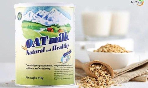 OAT milk – Lựa chọn chăm sóc sức khỏe cho cả gia đình
