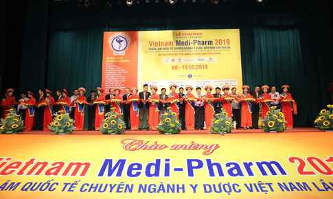 Giới thiệu nhiều công nghệ tiên tiến của ngành y dược tại triển lãm quốc tế  VIETNAM MEDI-PHARM 2019