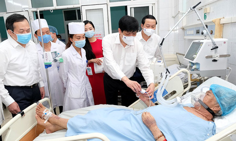 Phấn đấu tới năm 2024, BVĐK tỉnh Thanh Hoá trở thành bệnh viện tuyến cuối của Bộ Y tế