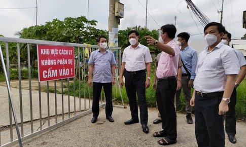 Thứ trưởng Đỗ Xuân Tuyên: Tuân thủ hướng dẫn để tránh lây nhiễm chéo trong các khu cách ly, phong toả